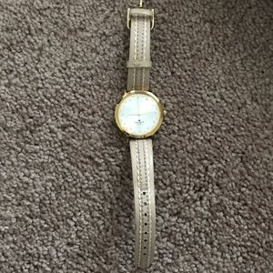 Gold scalloped Kate Spade watch